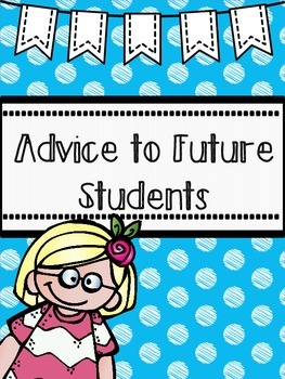Advice to Future Students, END OF YEAR FREEBIE!