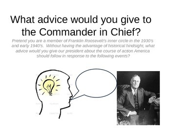 Advice to the Commander-in Chief