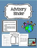 Advisory Binder for Organization
