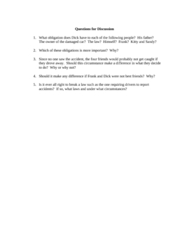 Advisory Group Series - Dick's Dilemma