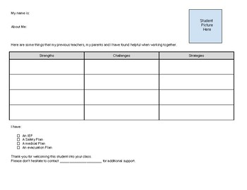 Advocacy Card Template