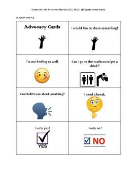 Advocacy Cards
