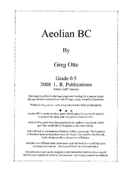 Aeolian BC