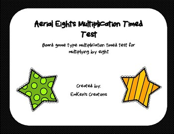 Aerial Eights Multiplication Timed Test