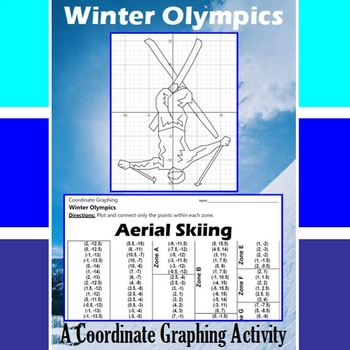 Aerial Skiing - An Olympic Coordinate Graphing Activity
