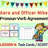 Aero & Officer Mike (Journeys L.14, 3rd Grade) PRONOUN-VER