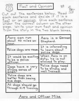 Aero and Officer Mike  3rd Grade Harcourt Storytown Lesson 7