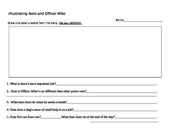 Aero and Officer Mike Illustration and Comprehension