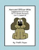 Aero and Officer Mike Journey's Supplemental Activities Unit 3, Lesson 14
