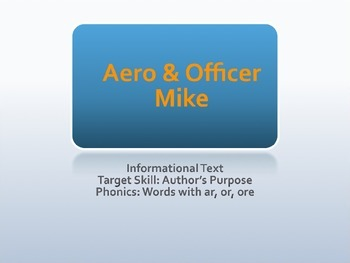 Aero and Officer Mike PPT Journeys Lesson 14