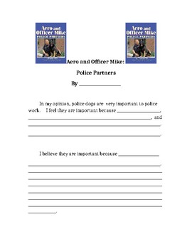 Aero and Officer Mike : Police Partners Opinion Essay