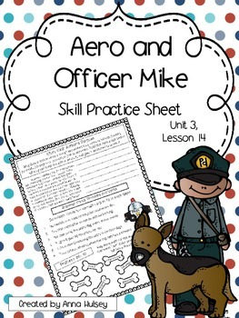 Aero and Officer Mike (Skill Practice Sheet)