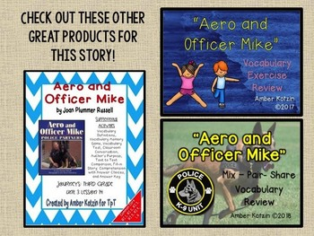 Aero and Officer Mike: Virtual Evidence Bag Journeys 3rd Grade Lesson 14