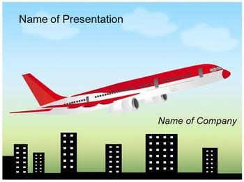 Aero plane PPT Template
