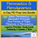 Aeronautics & Aerodynamics: 13 Day NO PREP Unit Bundle