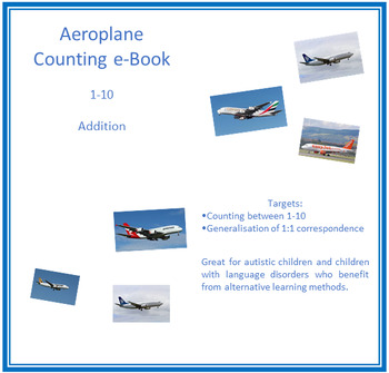 Aeroplane Counting e-Book (1-10)