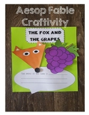 Aesop Fable Craftivity