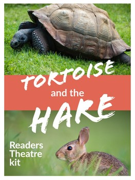 Aesop Fable: The Tortoise and the Hare Readers Theatre Script & Resources