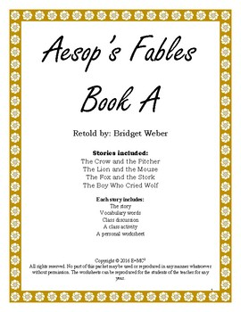 Aesop Fables Book A