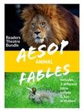 Aesop Fables Bundle: 3 Readers Theatre Scripts & Resources
