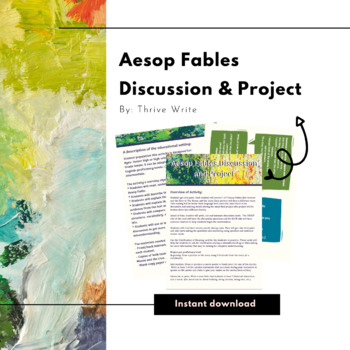Aesop Fables Discussion & Project