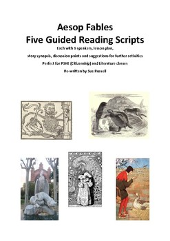 Aesop Fables Guided Reading Scripts and Readers Theater
