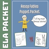 Aesop Fables Puppet Packet!