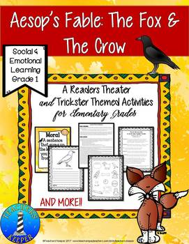 Aesop's Fable The Fox & the Crow