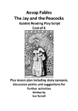 Aesop Fables The Jay and the Peacocks Cast of 6 play plus lesson plan