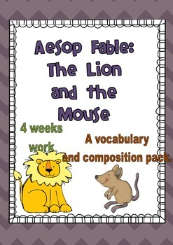 Aesop Fables - The Lion and the Mouse