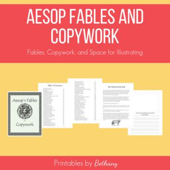Aesop Fables and Copywork: Charlotte Mason Style Language Arts