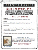 Aesop for High School!  Complete Fables Unit for Grades 8-12