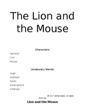 Aesop's Fable -Lion and Mouse