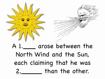 Aesop's Fable Read-along Video mp4 with Spelling Practice