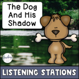 Aesop's Fable Reading Comprehension Center - The Dog and his Shadow