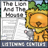 Reading Activities for Seesaw & Google - Lion and Mouse (D