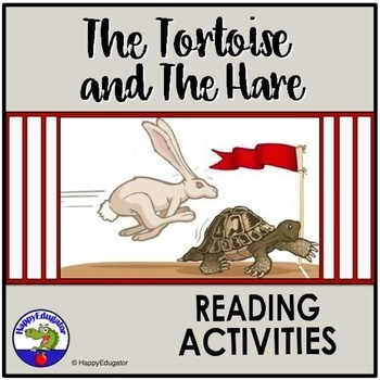 Aesop's Fable The Tortoise and the Hare Reading Activities