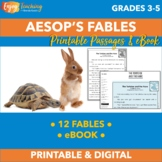 Aesop's Fables - 12 Printable or Shareable One-Page Stories