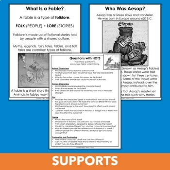 photograph relating to Printable Fables identified as Aesops Fables Web pages - e-book, 12 Printable Reports, and Further
