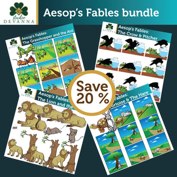 Aesop's Fables Clip Art Bundle