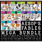 Aesop's Fables Clip Art Mega Bundle
