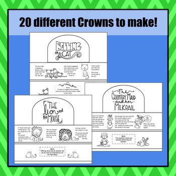 Aesop's Fables Crowns - S