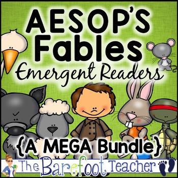Aesop's Fables Emergent Readers {A Growing MEGA Bundle}