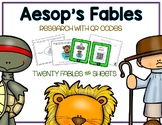 Ultimate Aesop's Fables Pack - 20 Stories - QR Codes Videos Posters Organizers