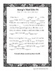 Aesop's Fables Mad Libs Worksheets