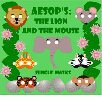 Aesop's Fables Reader's Theater Masks Bundle