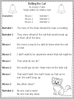 Aesop's Fables Readers' Theater Mega Bundle Lesson Plans and Activities