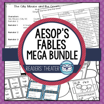 Aesop's Fables Readers' Theater Mega Bundle