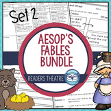 Aesop's Fables Readers' Theater Scripts and Lesson Plans - Set 2