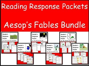 Aesop's Fables Reading Response Packet